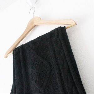 💕 NWT Old Navy Knit Infinity Black Scarf